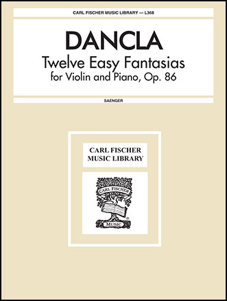 12 Easy Fantasias Op. 86-Violin