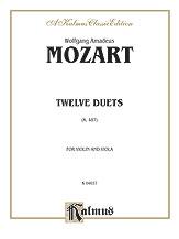 12 Duets K. 487-Violin and Viola