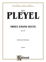 Three Grand Duets Op. 69-Violin/Viola