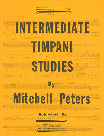 Intermediate Studies for Timpani