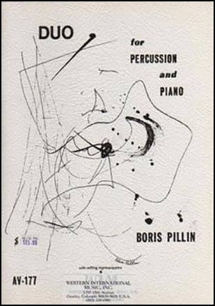 Duo for Percussion and Piano