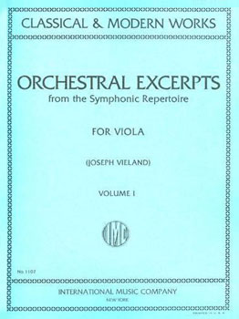Orchestral Excerpts for Viola