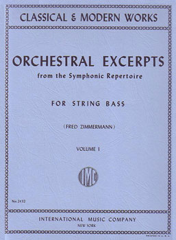 Orchestral Excerpts for String Bass, Vol. 1