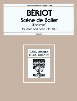 Scene de Ballet Op. 100-Violin Solo