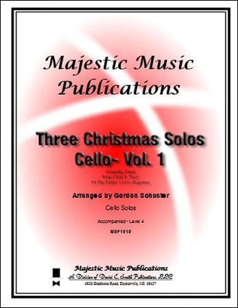 Three Christmas Solos for Cello
