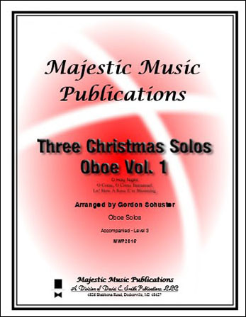 Three Christmas Solos for Oboe