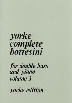 Complete Bottesini, Vol. 3