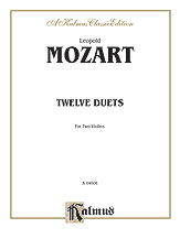 12 Duets for Two Violins