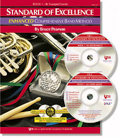 Standard of Excellence, Book 1 band sheet music cover