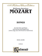 Mozart Songs-Medium/High Voice