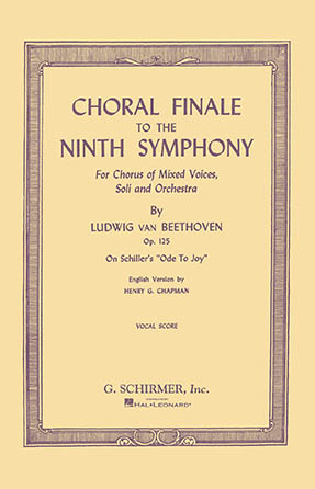 Choral Finale to the Ninth Symphony, Op. 125