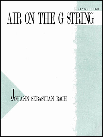 Search Bach, Air on the G String | Sheet music at JW Pepper