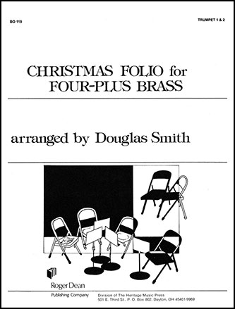 Christmas Folio for Four plus Brass