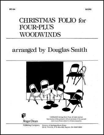Christmas Folio for Four plus Woodwinds