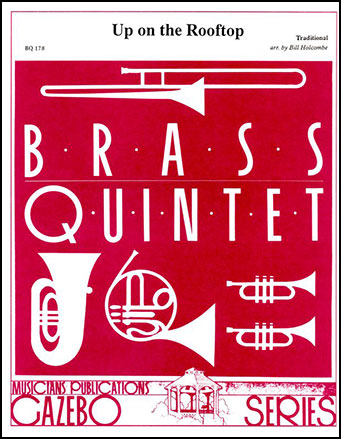 Up on the Rooftop-Brass Quintet