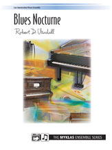 Blues Nocturne-2 Piano 4 Hands