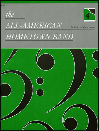 All American Hometown Band-1 Pno 4h