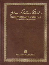 Inventions and Sinfonias, 2 and 3 Part