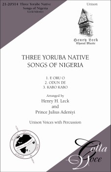 Three Yoruba Native Songs of Nigeri