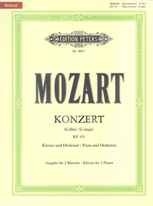 Concerto, No. 17 in G Major, K. 453