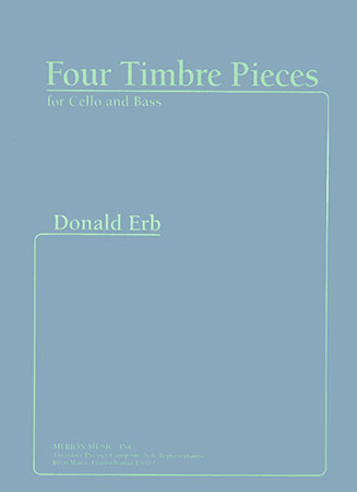 Four Timbre Pieces-Cello/Bass
