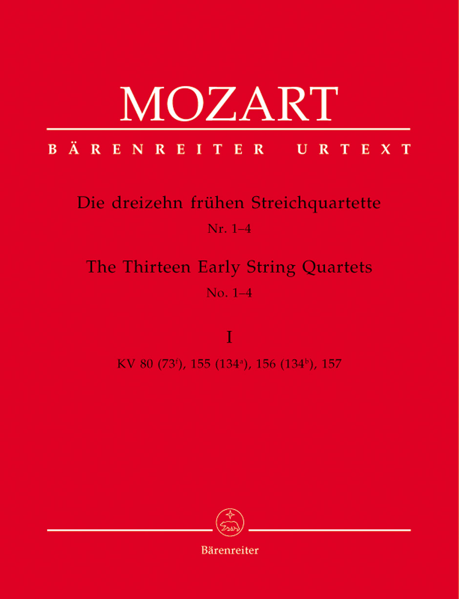 13 Early String Quartets, Vol. 1