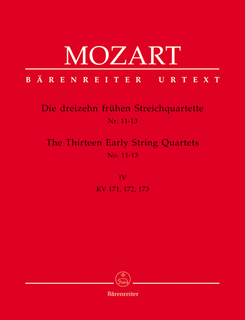 13 Early String Quartets, Vol. 4
