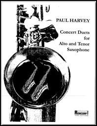 Concert Duets For Alto And Tenor Saxophone Saxop Jw Pepper