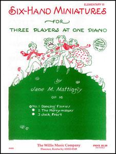 Dancing Fairies-1 Piano 6 Hands