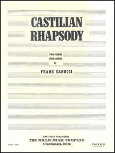 Castilian Rhpasody-2 Piano 4 Hands