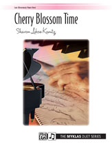 Cherry Blossom Time-1 Piano 4 Hands