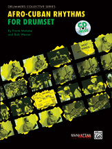 Afro Cuban Rhythms for Drum-Book and CD