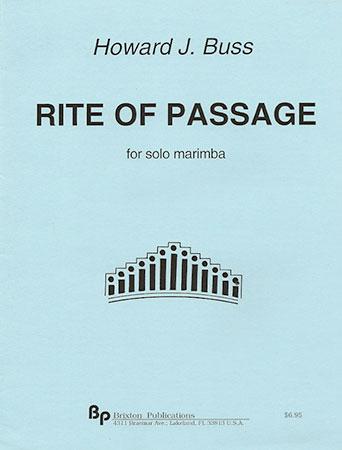 Rite of Passage-Marimba Solo