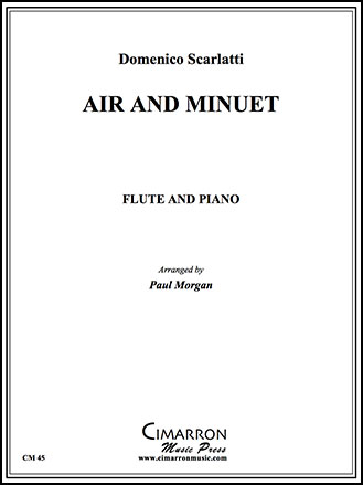 Air and Minuet-Flute/Piano
