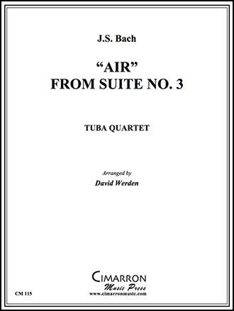 Air from Suite No. 3-Euphonium Quartet