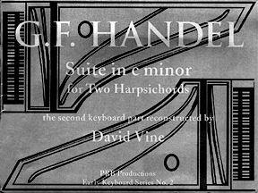 Suite in C Minor-2 Harpsichords