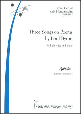 Three Poems-Medium or High Voice