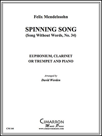 Spinning Song-Clarinet