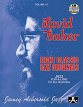 Jamey Aebersold Jazz, Volume  10 (David Baker)