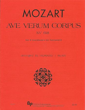 Ave Verum Corpus Kv618-Trom Quartet