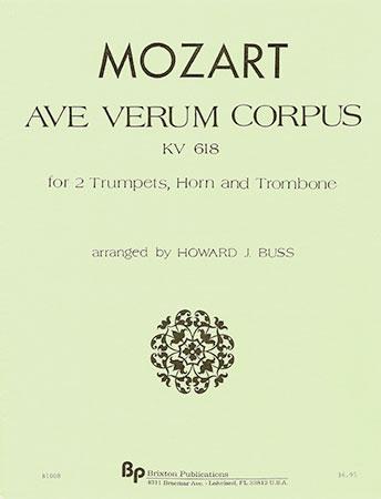 Ave Verum Corpus Kv618-Brass Quartet