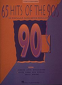 65 Hits of the 90's-Alto Sax