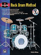 Basix Rock Drum Method-Book/CD