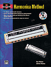 Basix Harmonica Method-Book/CD