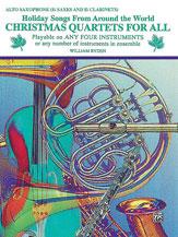 Christmas Quartets for All Cover
