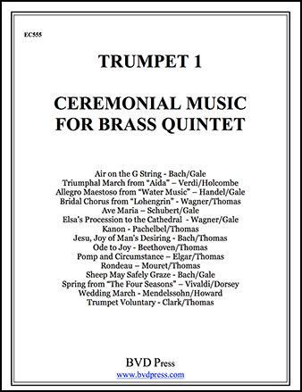 Ceremonial Music for Brass Quintet