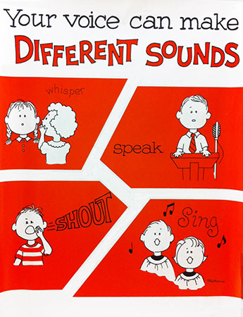 Your Voice Can Make Different Sounds