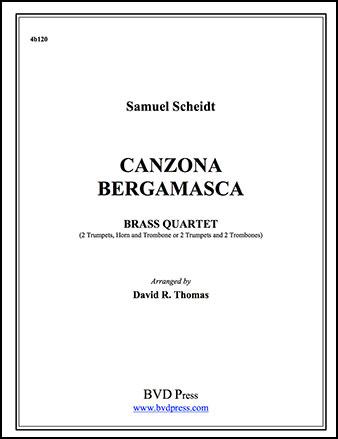 Canzona Bergamasca-Brass Quartet