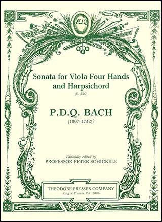 Sonata for Viola Four Hands