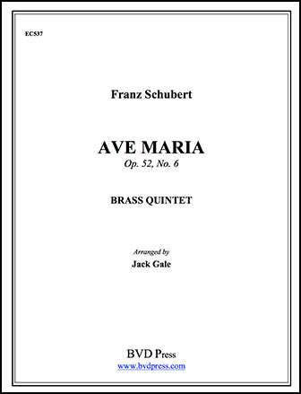 Ave Maria-Brass Quintet